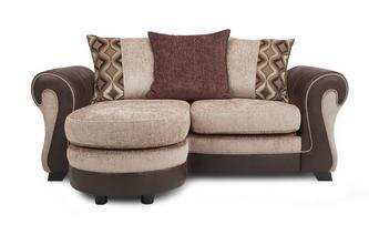 2 Seater Pillow Back Lounger Belle