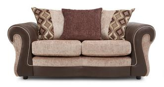 Belle Small 2 Seater Pillow Back Sofa