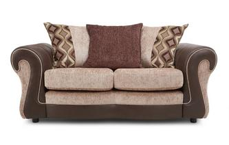 Small 2 Seater Pillow Back Sofa