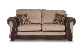 Large 2 Seater Formal Back Deluxe Sofa Bed Belle