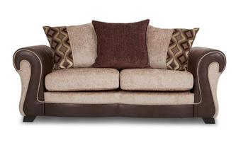 Large 2 Seater Pillow Back Deluxe Sofa Bed Belle