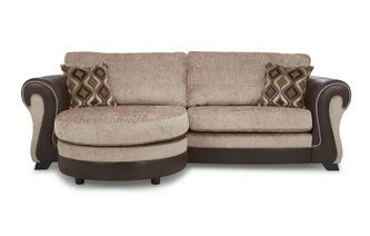 4 Seater Formal Back Lounger