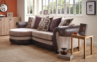 Belle 4 Seater Pillow Back Lounger Belle
