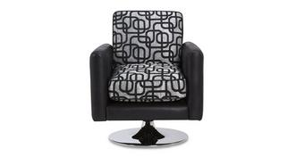 Bellini Pattern Swivel Chair