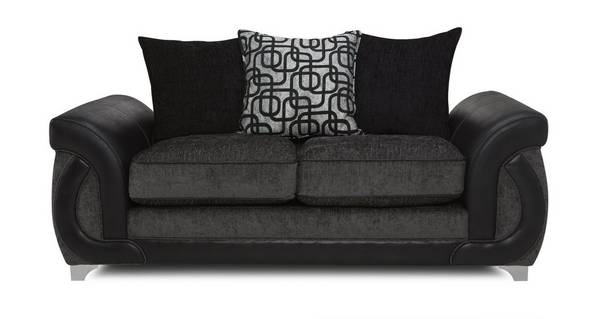Bellini Large 2 Seater Pillow Back Deluxe Sofa Bed