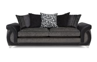 4 Seater Pillow Back Sofa Bellini