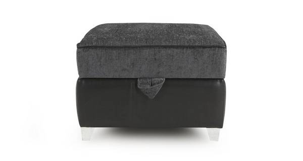 Bellini Plain Top Storage Footstool