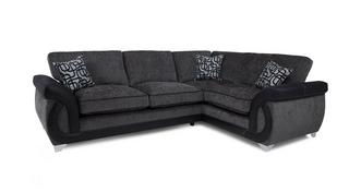 Bellini Left Hand Facing 3 Seater Formal Back Corner Sofa