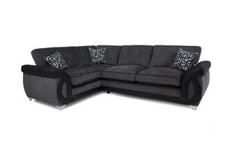 Right Hand Facing 3 Seater Formal Back Corner Sofa Bellini