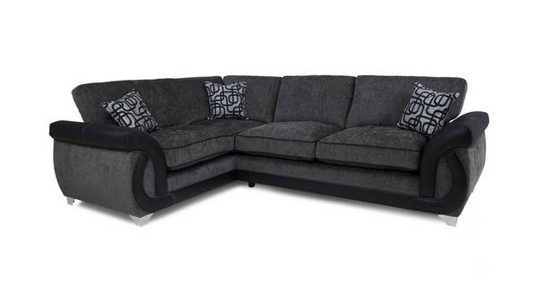 Bellini Right Hand Facing 3 Seater Formal Back Corner Sofa