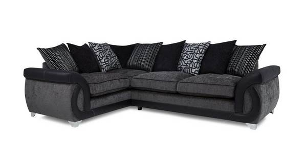 Bellini Right Hand Facing 3 Seater Pillow Back Corner Sofa