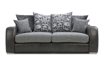Pillow Back 3 Seater Sofa Belmont