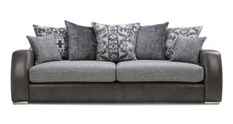 Belmont Pillow Back 4 Seater Sofa