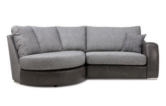 Formal Back Right Hand Facing 2 Seater Chaise End Sofa Belmont