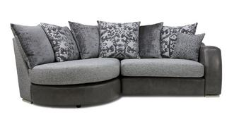 Belmont Pillow Back Right Hand Facing 2 Seater Chaise End Sofa