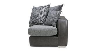 Belmont Pillow Back Right Hand Facing Arm 1 Seat Unit