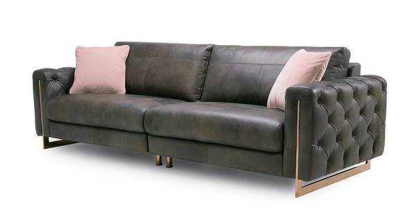 About the Belucci: 4 Seater Sofa