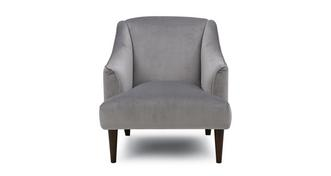 Beresford Velvet Accent Chair