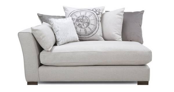 Beresford Pillow Back Left Hand Facing Arm 1.5 Seat Unit