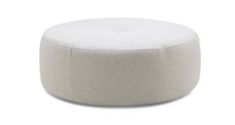 Beresford Plain Round Footstool