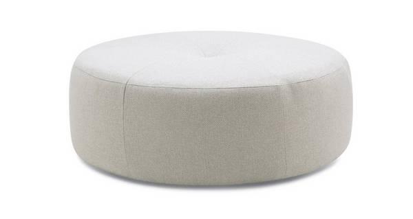 Beresford Plain Round Footstool