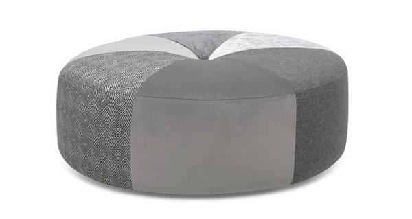 Beresford Pattern Round Footstool