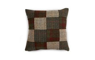 Square Patchwork Scatter Cushion