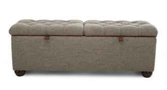 Berneray Bed Double Storage Ottoman