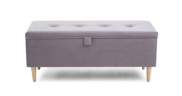 Beth Storage Ottoman with Legs