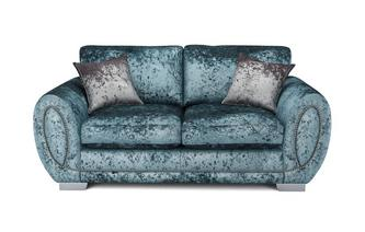 Bethany Formal Back 2 Seater Deluxe Sofa Bed Krystal