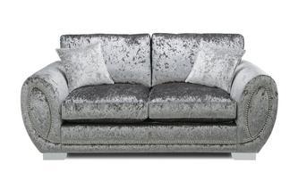 Formal Back 2 Seater Supreme Sofa Bed Krystal