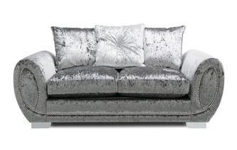 Pillow Back 2 Seater Supreme Sofa Bed Krystal