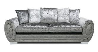 Bethany Pillow Back 4 Seater Sofa
