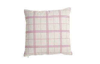 Checked Scatter Cushion