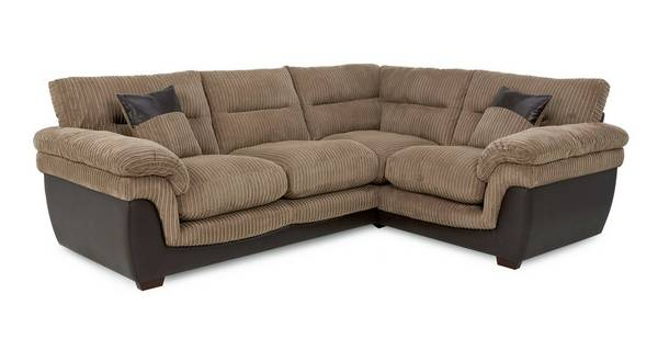 Bexley Left Hand Facing 2 Seater Corner Sofa Samson