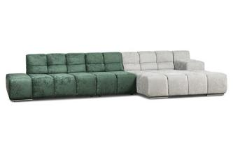 Left Hand Facing Chaise Open End Corner