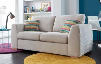 Bijoux Large 2 Seater Deluxe Sofa Bed Sherbet