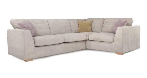 Blanche Left Hand Facing 2 Seater Corner Sofa