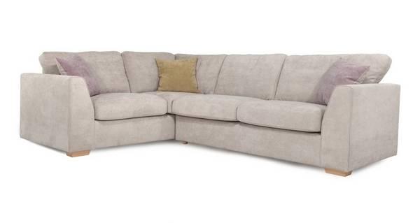Blanche Right Hand Facing 2 Seater Corner Sofa