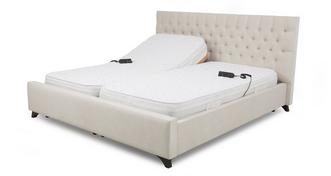 Bliss Super Kingsize (6 ft) Adjustable Bed & Pocket Mattress