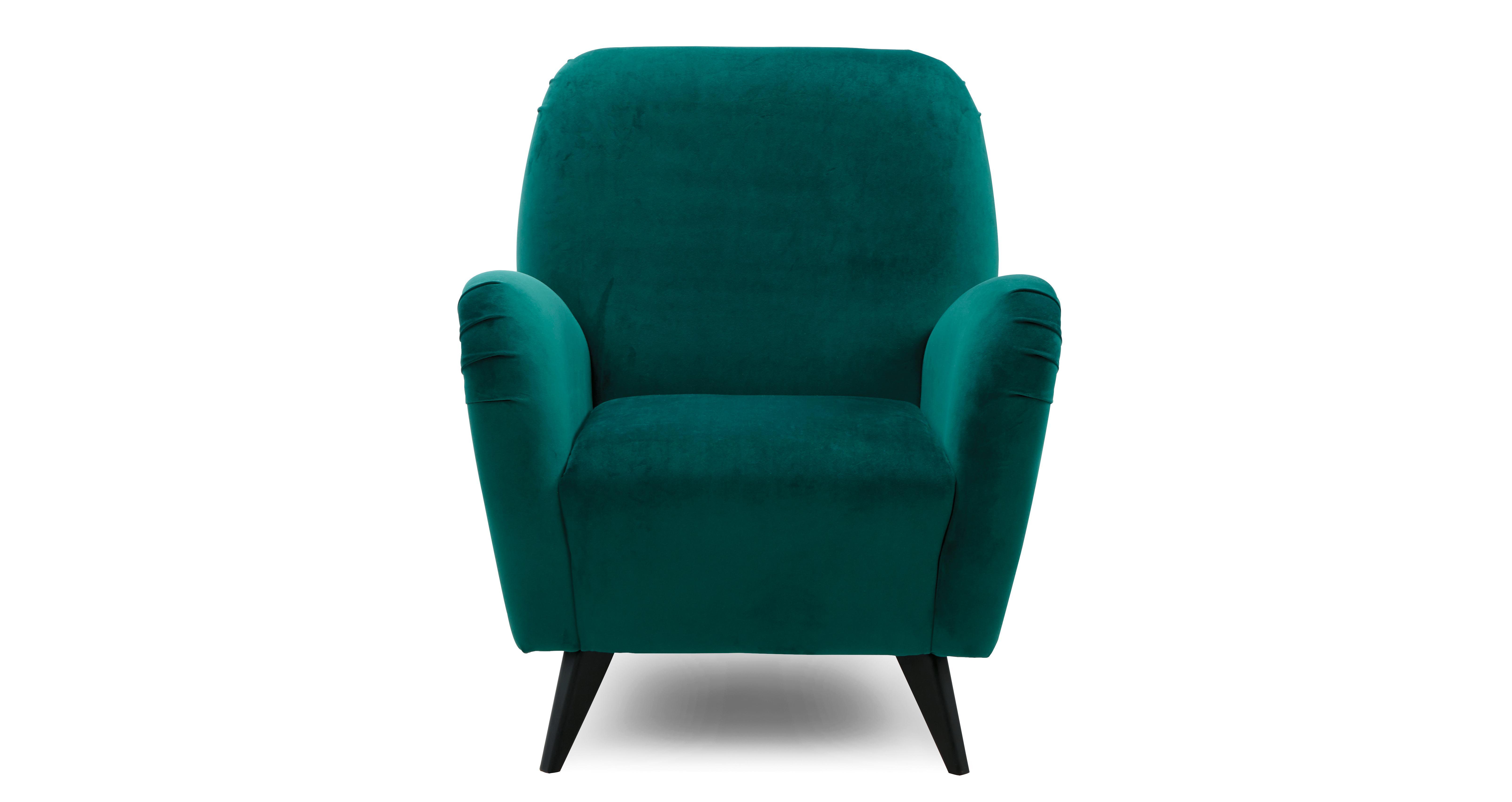Bohemian Velvet Accent Chair | DFS