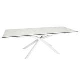 Extending 8-10 Seater Rectangular Dining Table