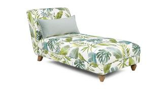 Botanic Pattern Chaise Longue