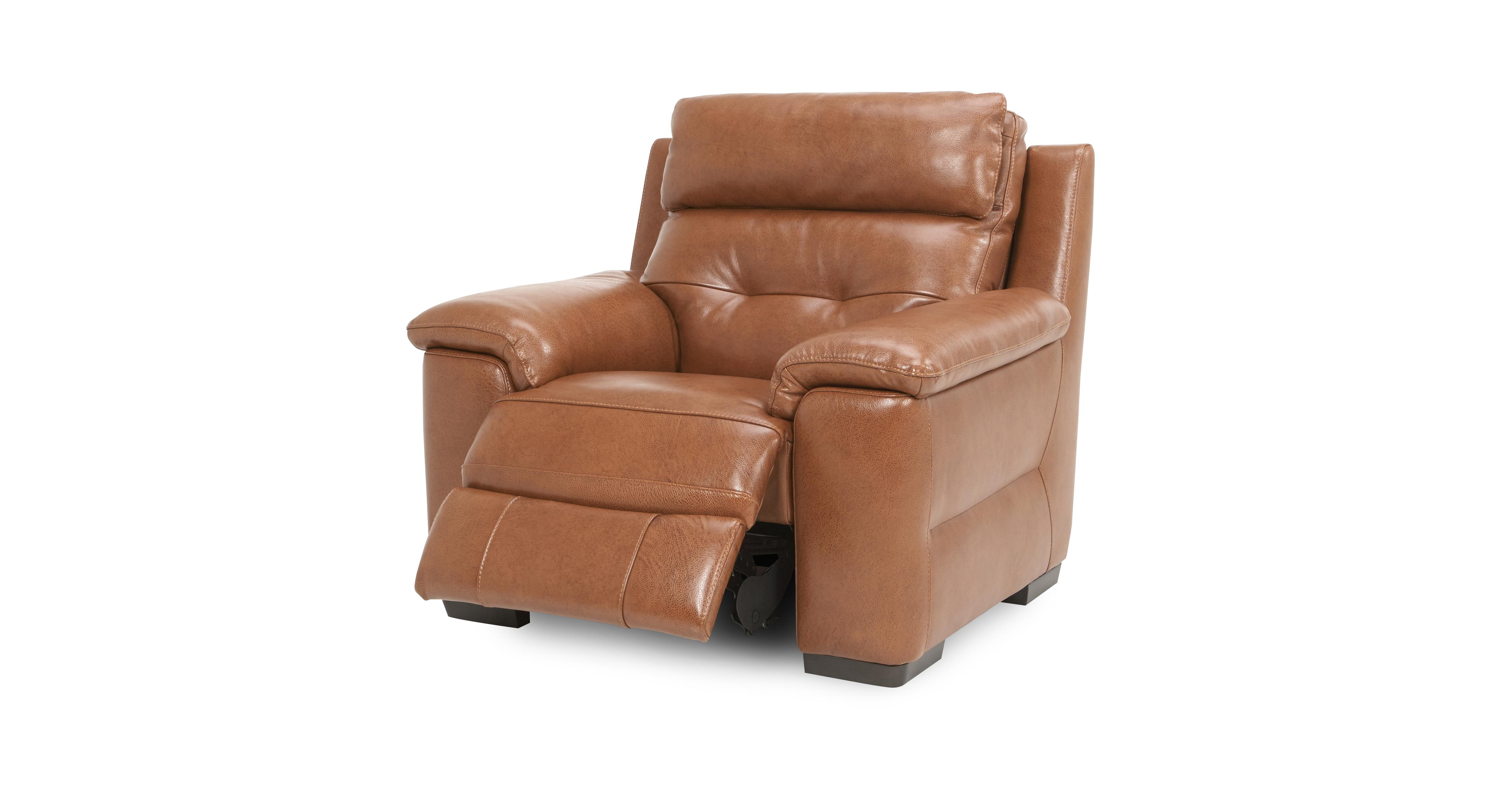 Bowness Electric Recliner Chair Brazil With Leather Look