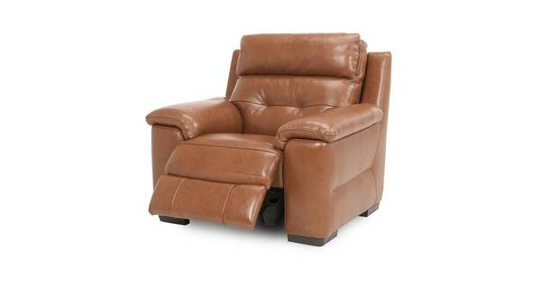 Bowness Leder en lederlook Elektrische recliner fauteuil