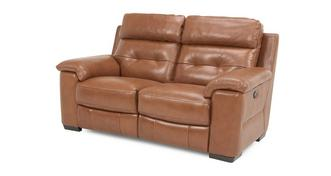 Bowness Leather and Leather Look 2 Seater Manual Recliner