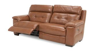 Bowness Leder en lederlook 3-zits elektrische recliner