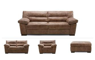 Bradley Clearance 3 Seater, 2 Seater, Cuddler & Stool Grand Outback