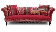 DFS Calypso Sofa - red