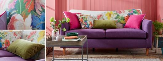 Brionna Patchwork Sofa